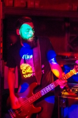 <p>29.08.2015, Double Party-Privatgig, Remscheid - Marco Sgarra, der Retter beinahe unzähliger GIM-Gigs. ;-)</p>